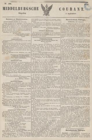 Middelburgsche Courant 1850-09-03