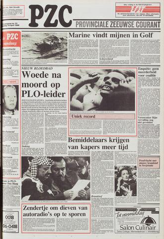 Provinciale Zeeuwse Courant 1988-04-18