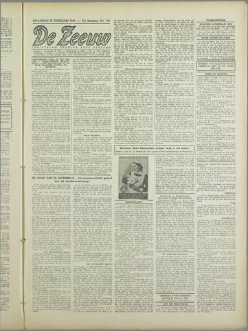De Zeeuw. Christelijk-historisch nieuwsblad voor Zeeland 1943-02-22
