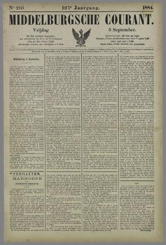 Middelburgsche Courant 1884-09-05