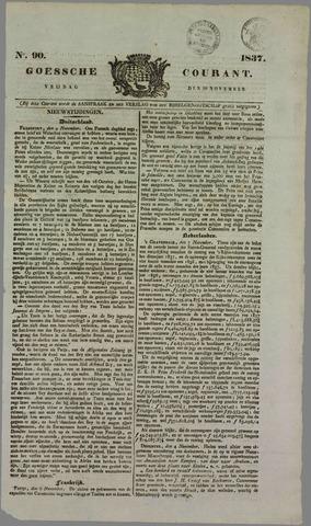 Goessche Courant 1837-11-10