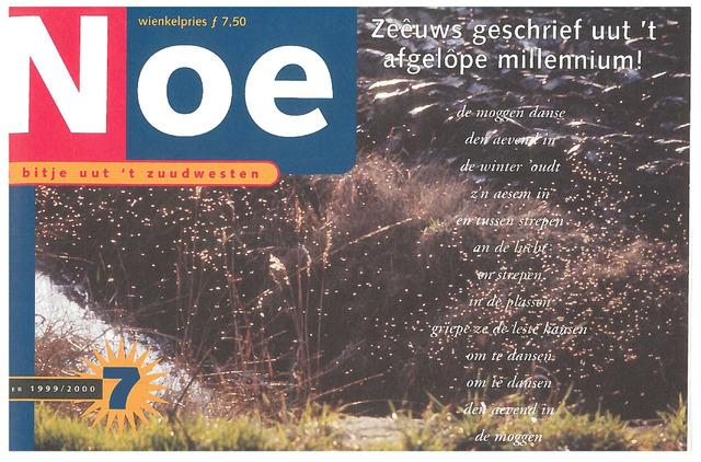 Noe. 'n bitje uut 't zuudwesten 1999-12-01