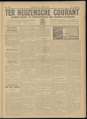 Ter Neuzensche Courant. Algemeen Nieuws- en Advertentieblad voor Zeeuwsch-Vlaanderen / Neuzensche Courant ... (idem) / (Algemeen) nieuws en advertentieblad voor Zeeuwsch-Vlaanderen 1932-04-11