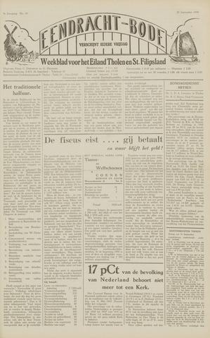 Eendrachtbode (1945-heden)/Mededeelingenblad voor het eiland Tholen (1944/45) 1949-09-23