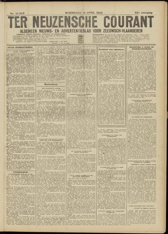 Ter Neuzensche Courant. Algemeen Nieuws- en Advertentieblad voor Zeeuwsch-Vlaanderen / Neuzensche Courant ... (idem) / (Algemeen) nieuws en advertentieblad voor Zeeuwsch-Vlaanderen 1942-04-15