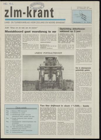 Zeeuwsch landbouwblad ... ZLM land- en tuinbouwblad 1993-05-21