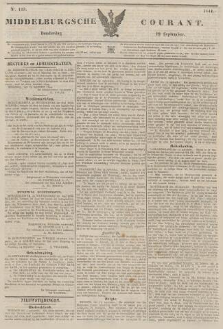 Middelburgsche Courant 1844-09-19