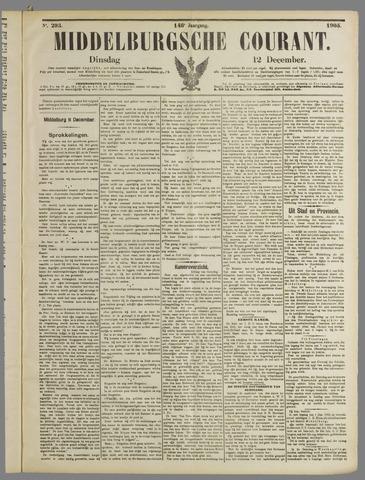 Middelburgsche Courant 1905-12-12