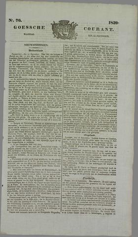 Goessche Courant 1839-09-23