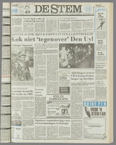 de Stem 1986-01-13