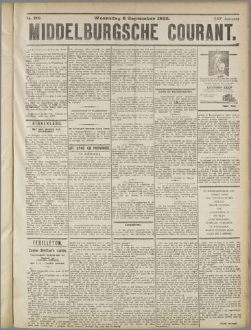 Middelburgsche Courant 1922-09-06