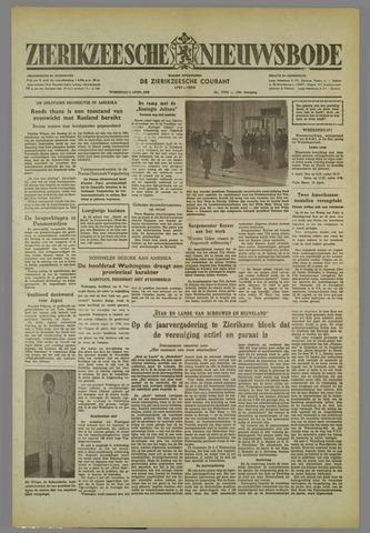 Zierikzeesche Nieuwsbode 1952-04-02