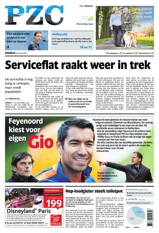 Provinciale Zeeuwse Courant 2015-03-24