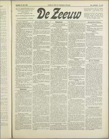 De Zeeuw. Christelijk-historisch nieuwsblad voor Zeeland 1934-07-23