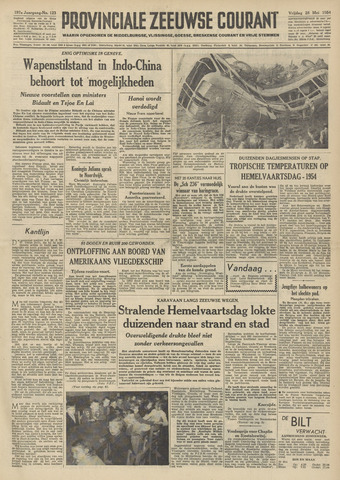 Provinciale Zeeuwse Courant 1954-05-28