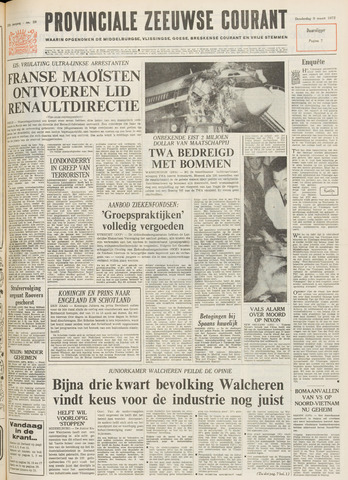 Provinciale Zeeuwse Courant 1972-03-09