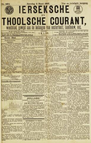 Ierseksche en Thoolsche Courant 1907-03-02