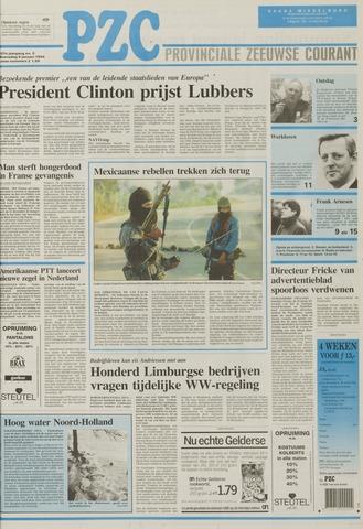Provinciale Zeeuwse Courant 1994-01-05