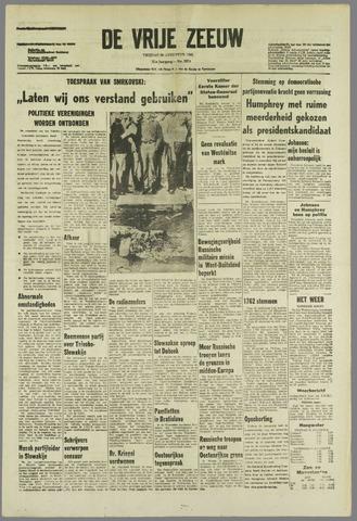 de Vrije Zeeuw 1968-08-30