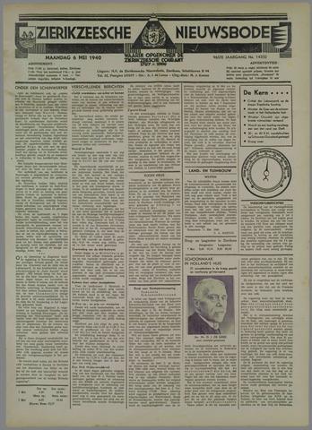 Zierikzeesche Nieuwsbode 1940-05-06