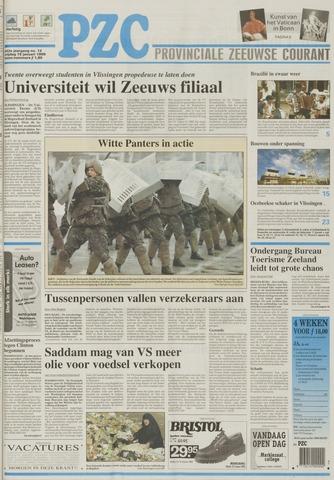 Provinciale Zeeuwse Courant 1999-01-15