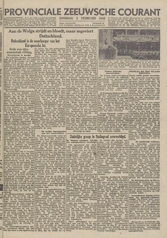 Provinciale Zeeuwse Courant 1943-02-02