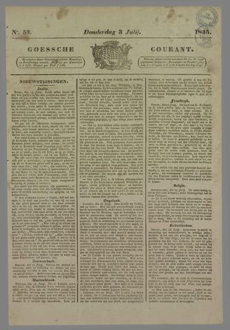 Goessche Courant 1845-07-03