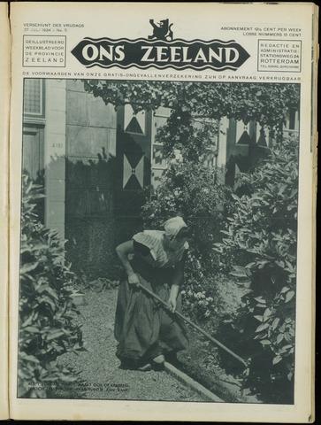 Ons Zeeland / Zeeuwsche editie 1934-07-27