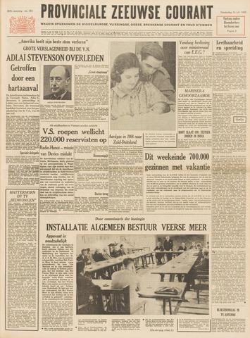 Provinciale Zeeuwse Courant 1965-07-15