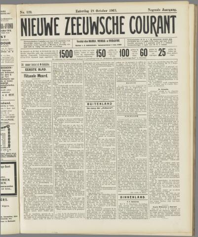 Nieuwe Zeeuwsche Courant 1913-10-18