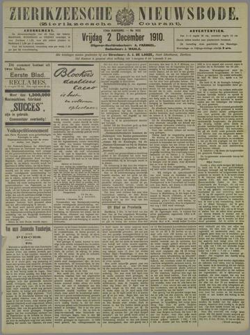 Zierikzeesche Nieuwsbode 1910-12-02