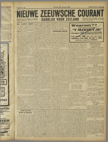 Nieuwe Zeeuwsche Courant 1921-01-28