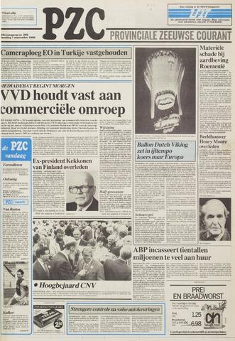 Provinciale Zeeuwse Courant 1986-09-01