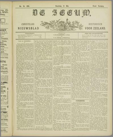 De Zeeuw. Christelijk-historisch nieuwsblad voor Zeeland 1896-05-21