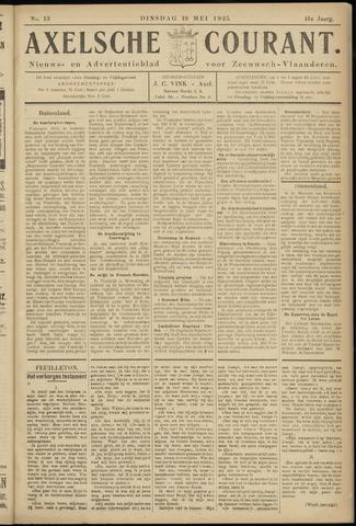 Axelsche Courant 1925-05-19