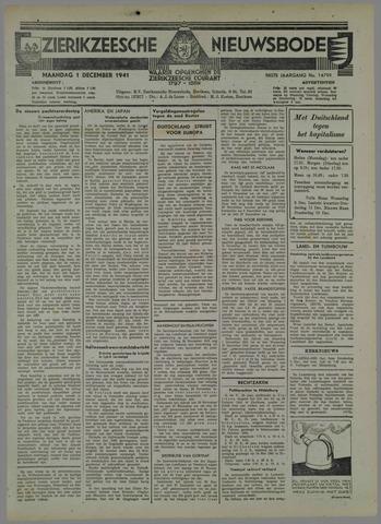 Zierikzeesche Nieuwsbode 1941-11-01