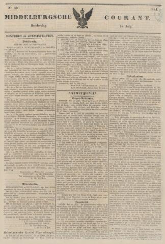 Middelburgsche Courant 1844-07-25