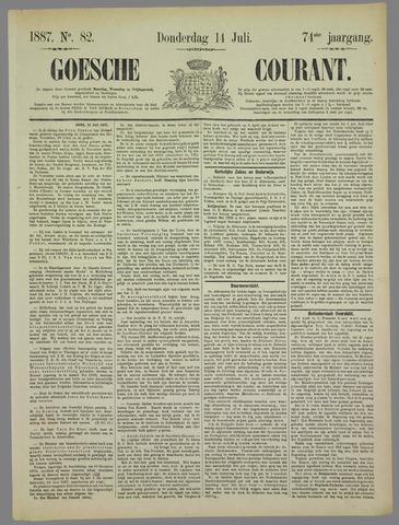 Goessche Courant 1887-07-14
