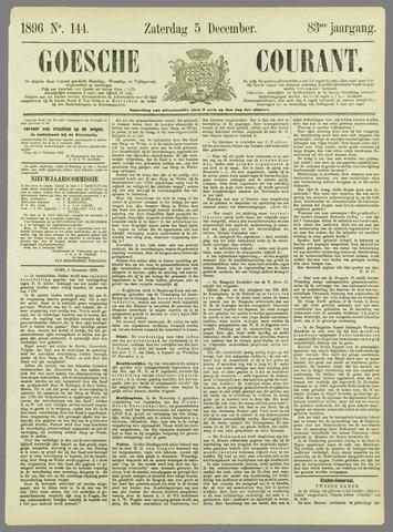 Goessche Courant 1896-12-05