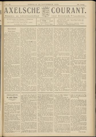Axelsche Courant 1932-11-22