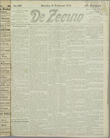 De Zeeuw. Christelijk-historisch nieuwsblad voor Zeeland 1917-02-06