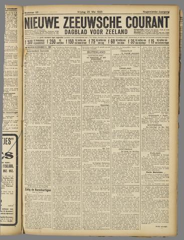 Nieuwe Zeeuwsche Courant 1923-05-25