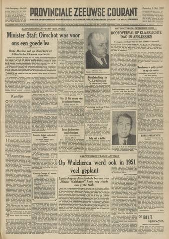 Provinciale Zeeuwse Courant 1952-05-03
