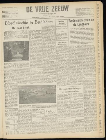 de Vrije Zeeuw 1951-12-22
