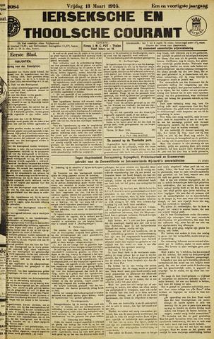 Ierseksche en Thoolsche Courant 1925-03-13