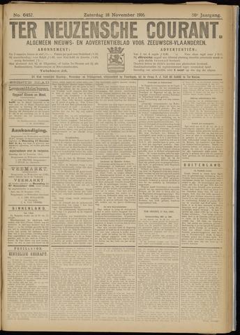 Ter Neuzensche Courant. Algemeen Nieuws- en Advertentieblad voor Zeeuwsch-Vlaanderen / Neuzensche Courant ... (idem) / (Algemeen) nieuws en advertentieblad voor Zeeuwsch-Vlaanderen 1916-11-18