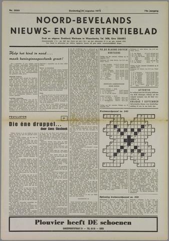 Noord-Bevelands Nieuws- en advertentieblad 1973-08-30