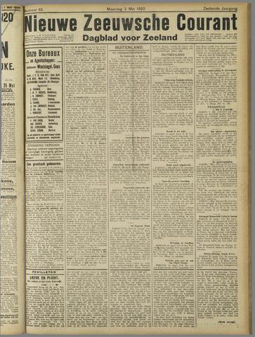 Nieuwe Zeeuwsche Courant 1920-05-03