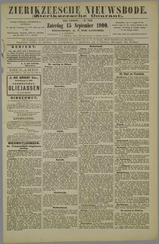 Zierikzeesche Nieuwsbode 1900-09-15