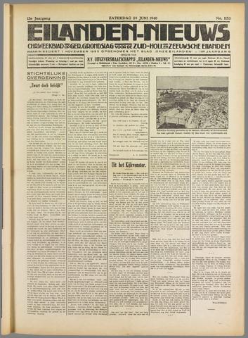 Eilanden-nieuws. Christelijk streekblad op gereformeerde grondslag 1940-06-29